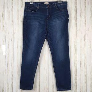 Loft Outlet Curvy Skinny Jeans